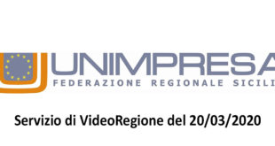 unimpresa sicilia servizio videoregione